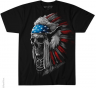 Футболка Liquid Blue - USA CHIEF SKULL