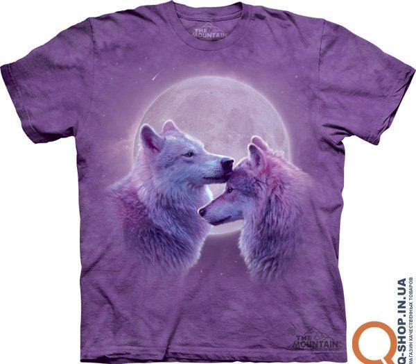 Модная футболка с волком