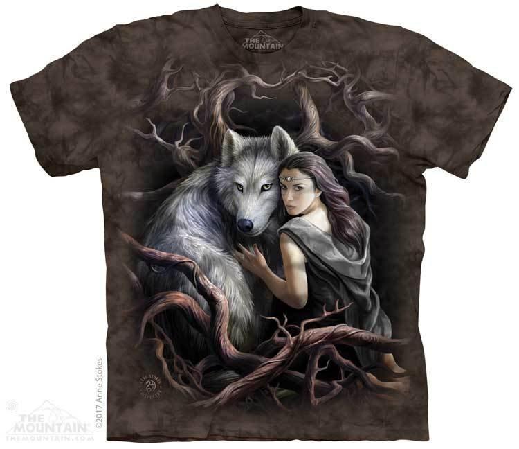 Майки с волками на заказ